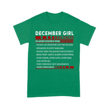 Load image into Gallery viewer, December Girl Facts - Standard T-shirt