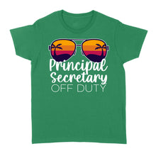 Load image into Gallery viewer, Principal Secretary Off Duty - Standard Women's T-shirt
