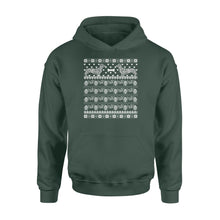 Load image into Gallery viewer, Dachshund Christmas - Standard Hoodie