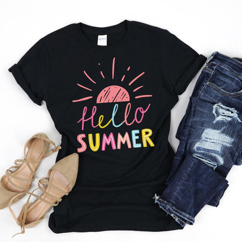 Hello Summer Shirt-Unisex T-Shirt