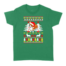 Load image into Gallery viewer, Corgi Christmas Holiday Dog - Standard Women's T-shirt