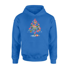 Load image into Gallery viewer, Flamingo Christmas Tree - Standard Hoodie