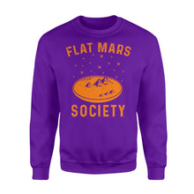 Load image into Gallery viewer, Flat Mars Society - Standard Crew Neck Sweatshirt