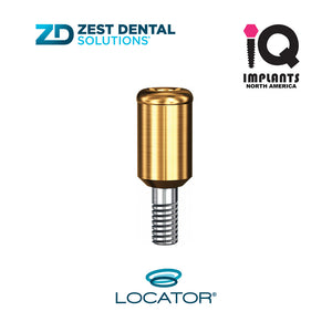 Zest LOCATOR® Abutment IQ Implants & Compatibles 3.5/3.75 platform, 4mm SP