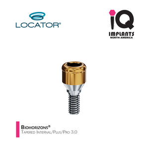 Zest LOCATOR® Classic Abutment Biohorizons® Tapered Internal/Plus/Pro 3.0,  2mm