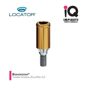 Zest LOCATOR® Classic Abutment Biohorizons® Tapered Internal/Plus/Pro 3.0,  6mm