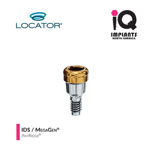 Zest LOCATOR® Classic Abutment IDS / MegaGen AnyRidge 3.5 Internal Connection, 1mm