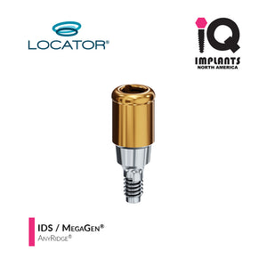 Zest LOCATOR® Classic Abutment IDS / MegaGen AnyRidge 3.5 Internal Connection, 4mm