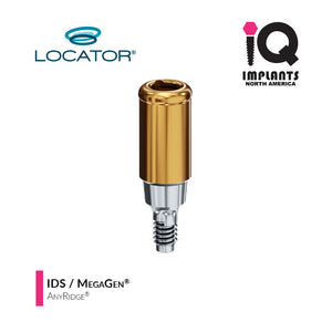 Zest LOCATOR® Classic Abutment IDS / MegaGen AnyRidge 3.5 Internal Connection, 6mm