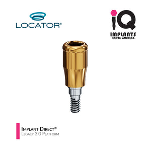 Zest LOCATOR® Classic Abutment IMPLANT DIRECT® Legacy 3.0 Platform