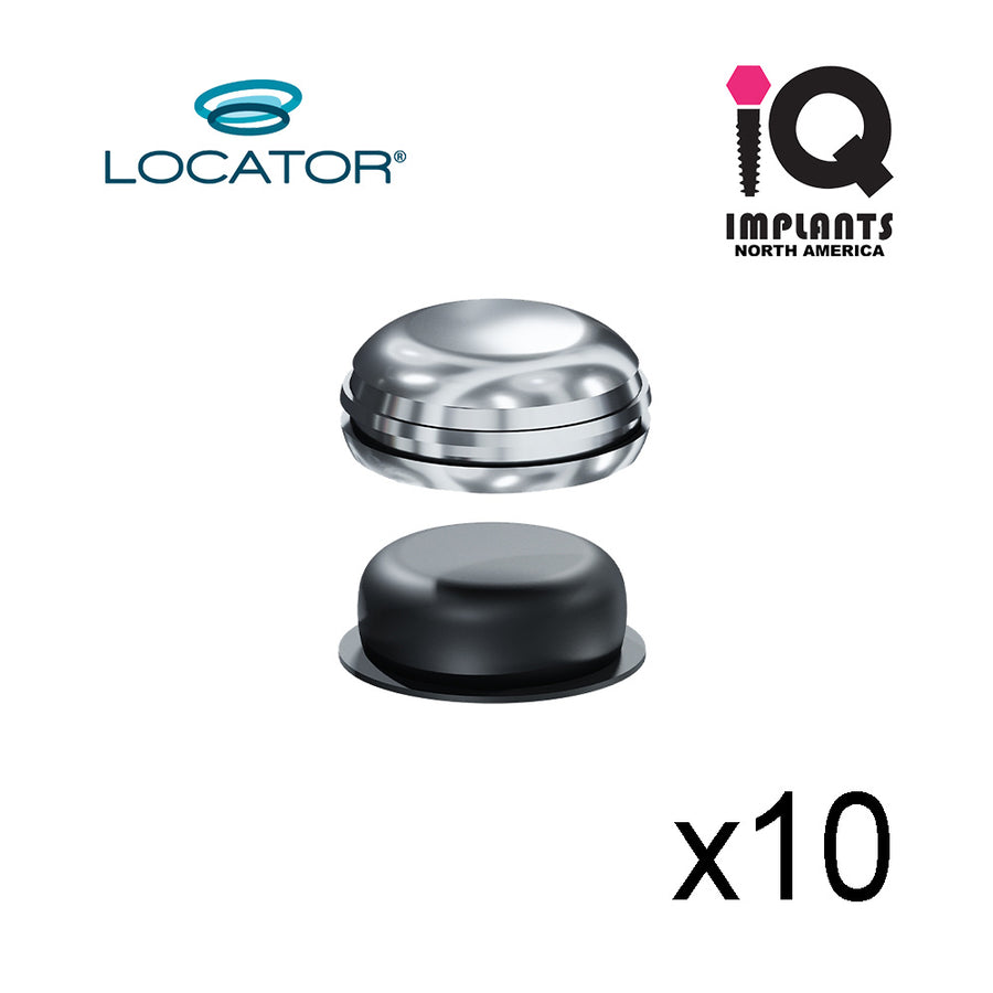 Locator Replacement Denture Cap Male Assembly (10 Pack)