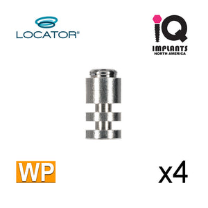 Locator Female Analog, 5mm WP (4 Pack)