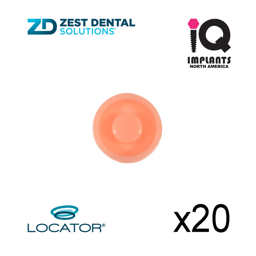 Locator Male Standard Light, Pink 3.0 lbs  (20 Pack)