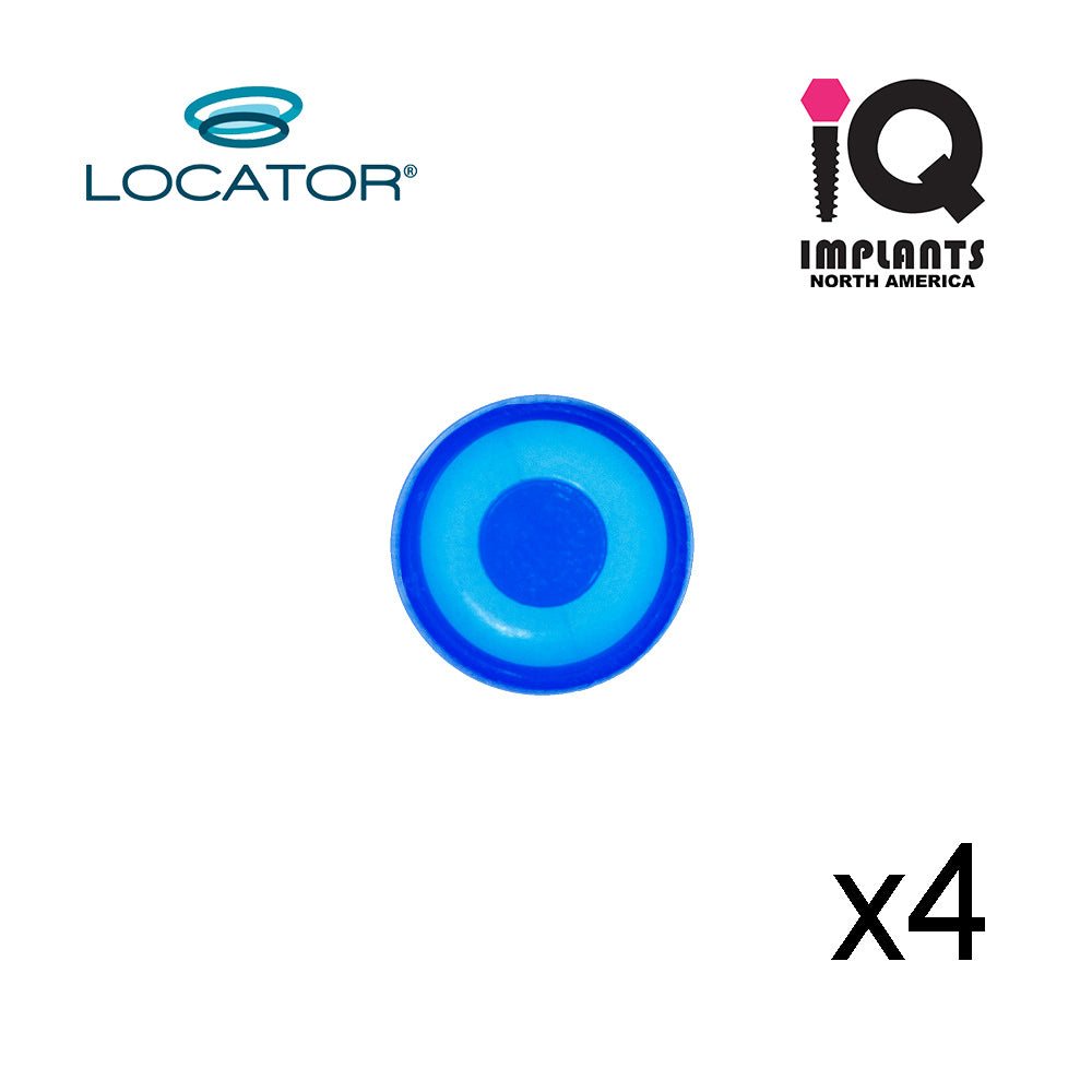 Locator Male Standard Xtra-Light, Blue 1.5lbs  (4pk)