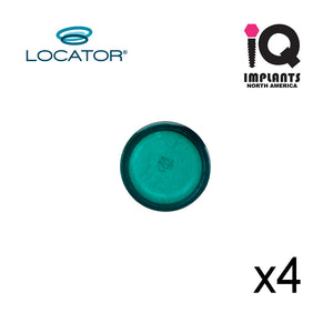 Locator Male Extended Range, Green 3-4 lbs  (4 Pack)