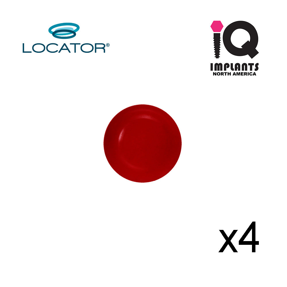 Locator Male Extended Range, Red 0.5-1.5 lbs  (4pk)