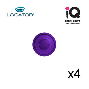 Locator Male Standard Extra Strong, Purple 8.0 lbs  (4-Pack)
