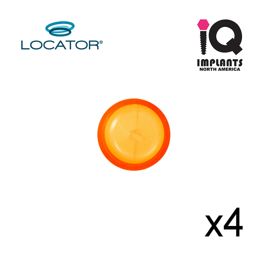 Locator Male Extended Range, Orange 2.0 lbs  (4pk)