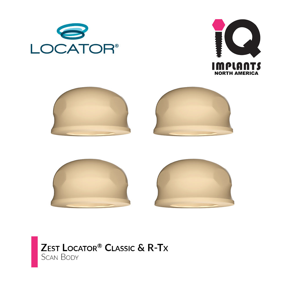 Locator Scan Body, (4 Pack)