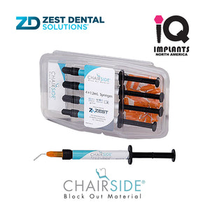 Zest CHAIRSIDE® Block Out Material, 4-Pack of 1.2ml Syringes