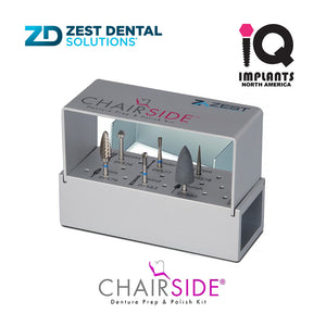 Zest CHAIRSIDE® Denture Prep & Polish Kit