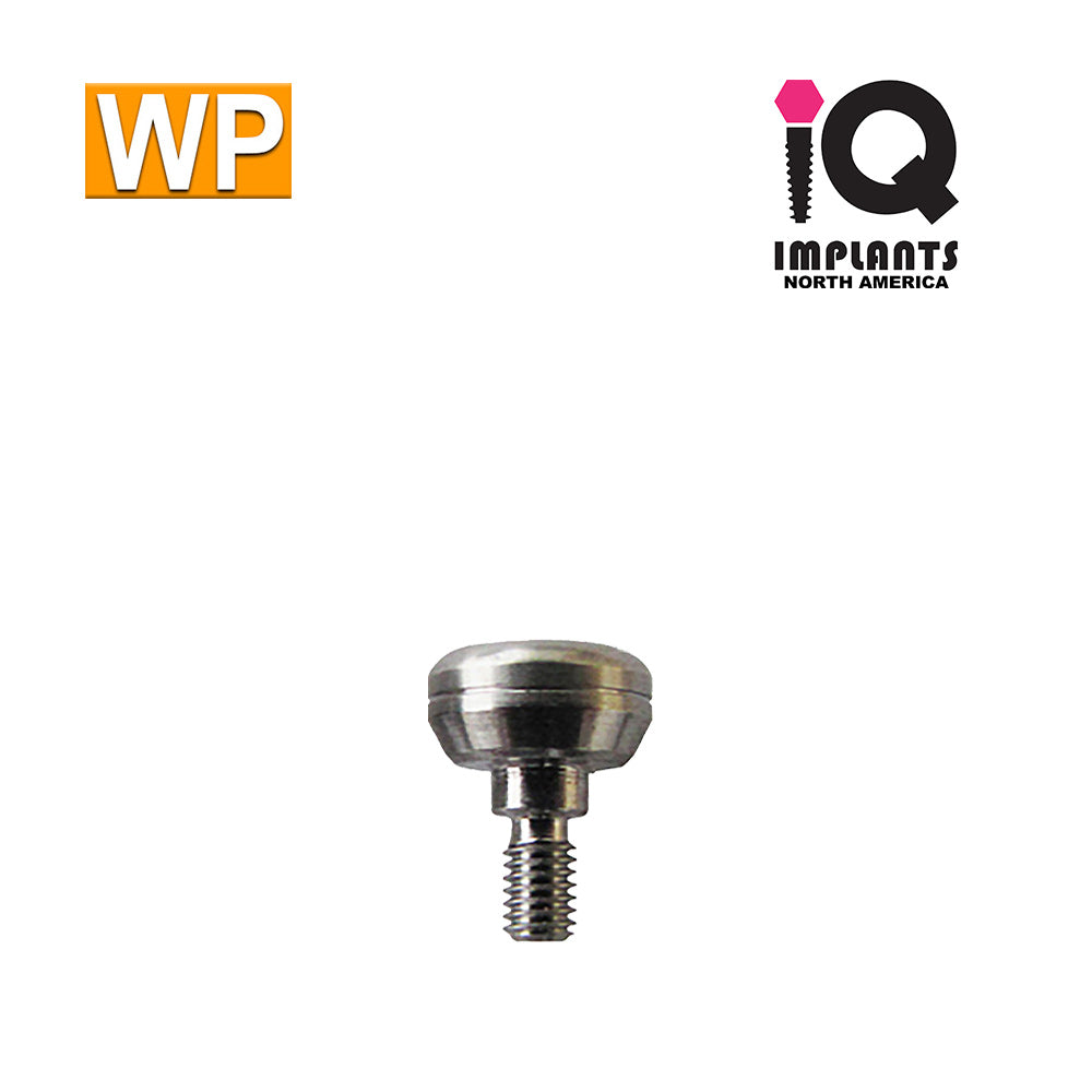 Healing Cap Abutment for Wide 4.5mm platform, 3mm WP