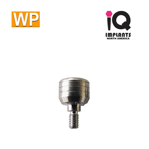 Healing Cap Abutment for Wide 4.5mm platform, 5mm WP