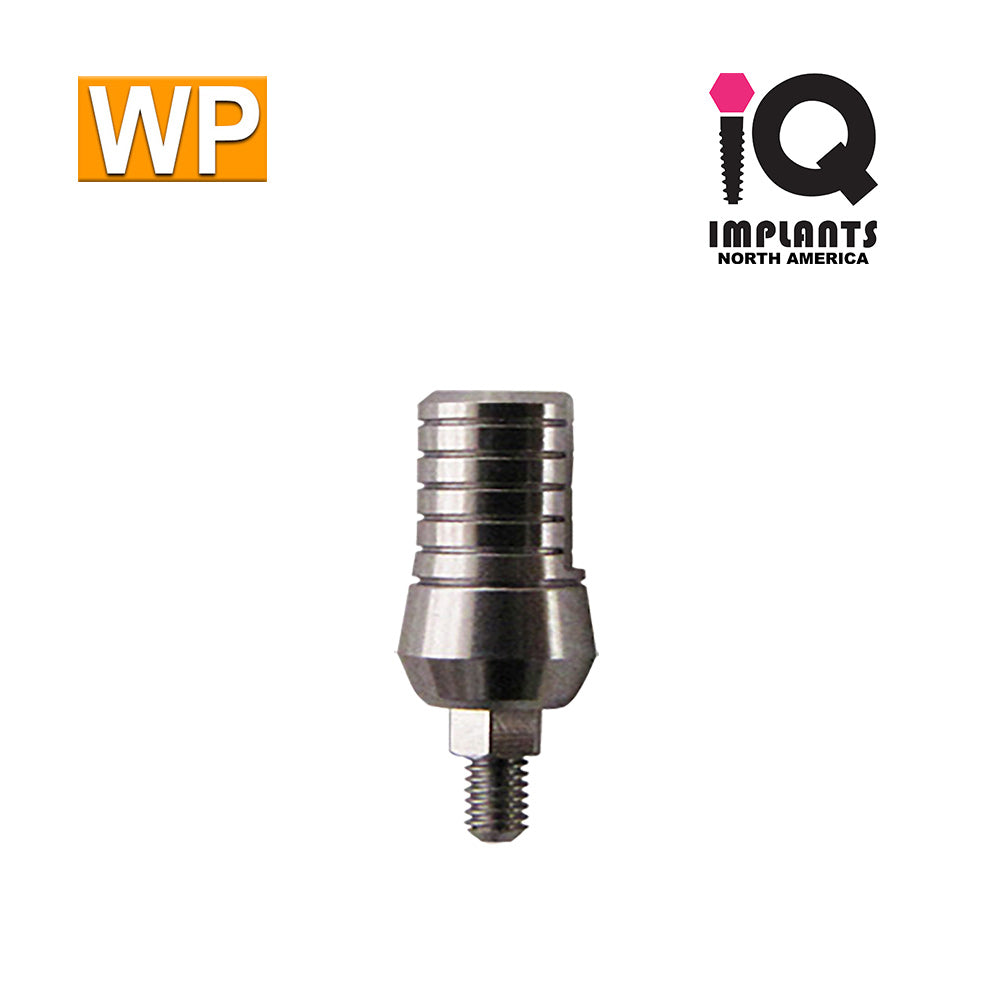 Straight Titanium Abutment,  9mm WP