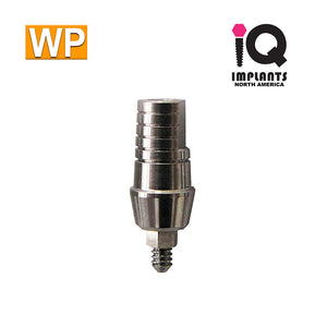 Straight Shoulder Abutment for Wide 4.5mm Platform, 3mm WP