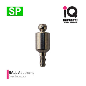 Ball Abutment, 5mm SP