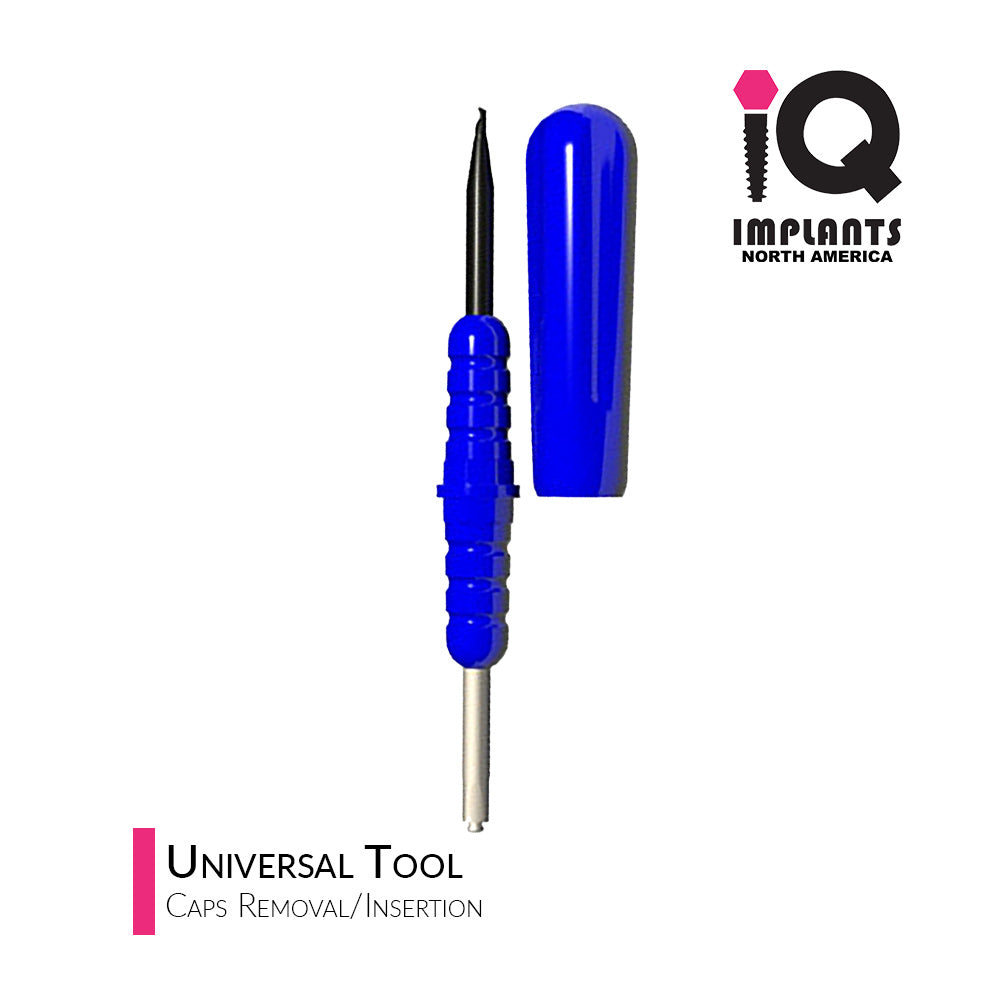 IQ-Rhein/IQ-Ball Retention Caps Insertion/Extraction Universal Tool 1.8/2.5mm