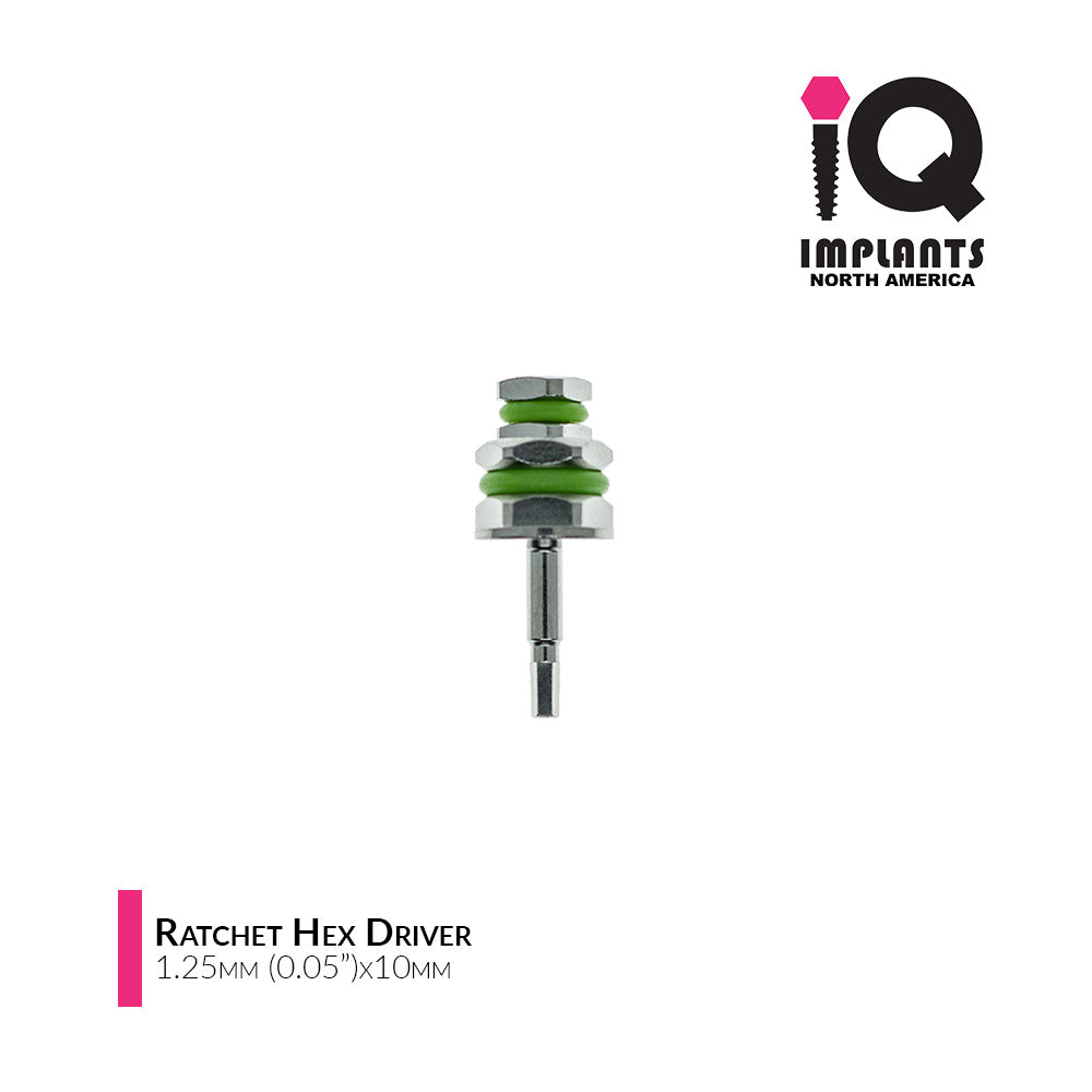 Hex Driver for Ratchet, 1.25mm x10mm