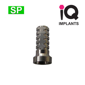 Solid Multiunit Abutment Rotational Titanium Sleeve, SP (4pk)