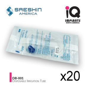 Saeshin Disposable Irrigation Tubing for Implant Motor Systems, (20-Pack)