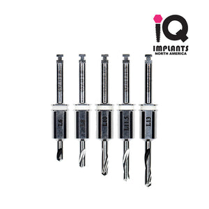 Guided Surgery Replacement Drills, 2.0mm Set