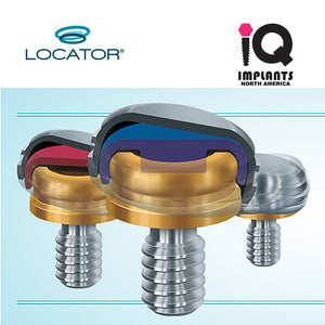 Zest LOCATOR® Abutment Zimmer 3.5 Screw-Vent & Compatibles, 4mm