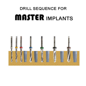 SPECIAL:  Buy 5 MASTER Implants and get 1 FREE