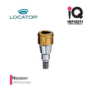 Zest LOCATOR® Abutment Neodent GM (Grand Morse) Platform, 4mm