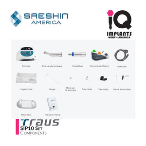 Traus SIP10 Advanced Surgical Implant Motor Set 32:1 (Optic)