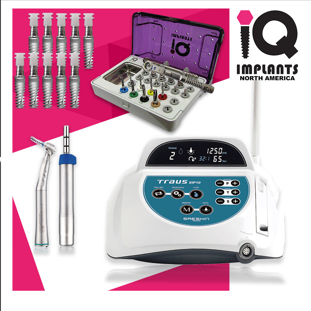 Surgical Implant Combo Standard Starter Package with Motor