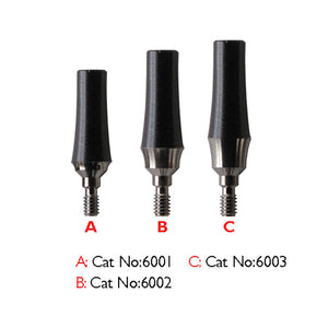 Classic Multiunit Straight Abutment with Rotational Sleeve, (5pk) SP