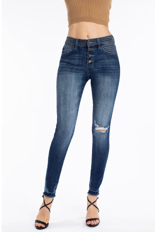 Gemma High Rise Super Skinny