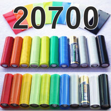 Load image into Gallery viewer, 20700 Battery wraps x 20 PVC heat shrink tubing by CVSvape