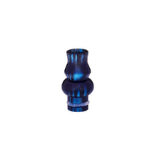 Load image into Gallery viewer, 510 Drip Tip Gourd Shaped Colourful Resin Delrin Cylin by CVSvape