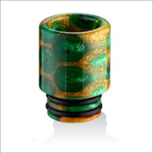 Load image into Gallery viewer, 510 Drip Tip Honeycomb Resin Colourful straight by CVSvape
