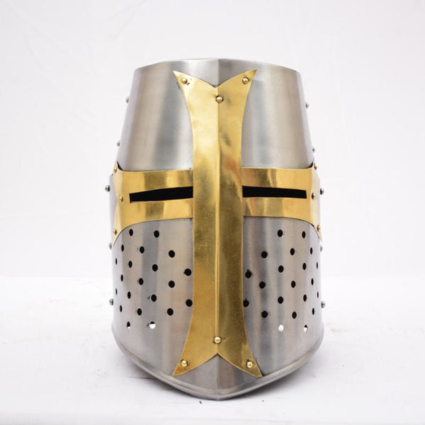 Medieval Crusader Templar Knight Helmet by Scott Handicrafts.