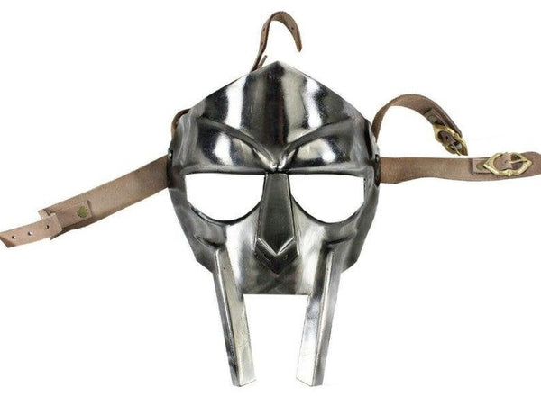 MF Doom Gladiator Mask real steel by Scott Handicraft's.