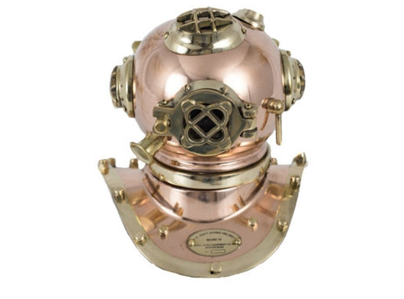 Handmade Copper Mini Diving Helmet Perfectly Crafted.