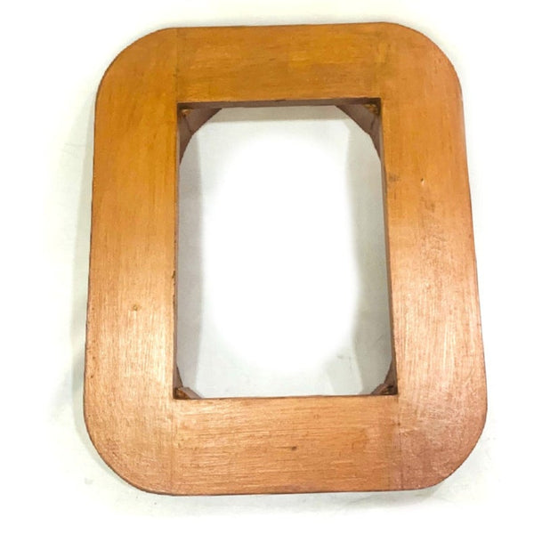Base for Mark V Divers Helmet  Wooden Stand.