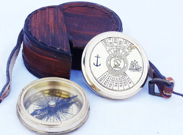 Nautical Anchor Calendar compass.